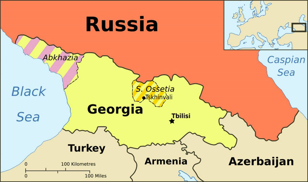 Map Of Georgia Eastern Europe.Top Education Consultancy In Bihar Admission Consultancy In Bihar